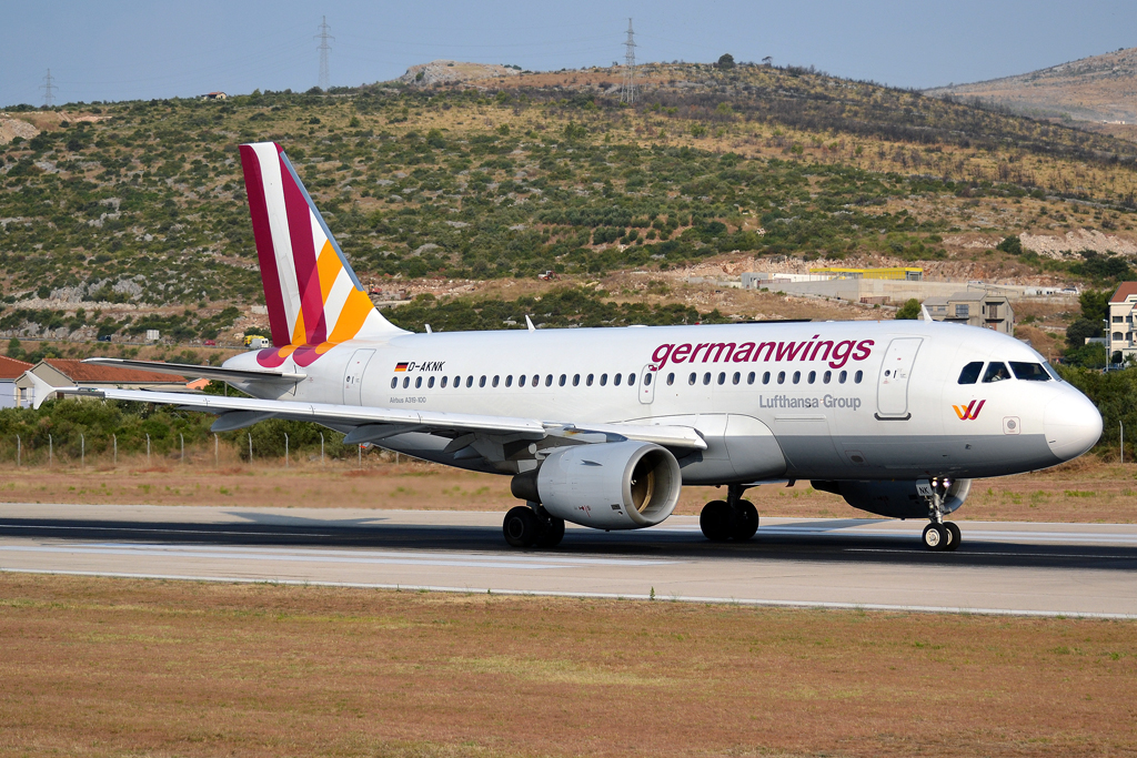 A319-112 Germanwings D-AKNK Split_Resnik (SPU/LDSP) August ...