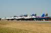 Sukhoi Su-27 Flanker B 12 BLUE Russia Air Force Kecskemet (LKHE) August_04_2013