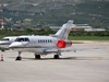 Hawker Beechcraft 750 Private SP-CEO Split_Resnik (SPU/LDSP) May_02_2012